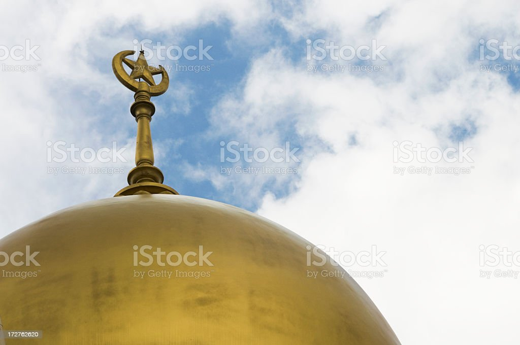 Mosque Dome royalty-free stock photo