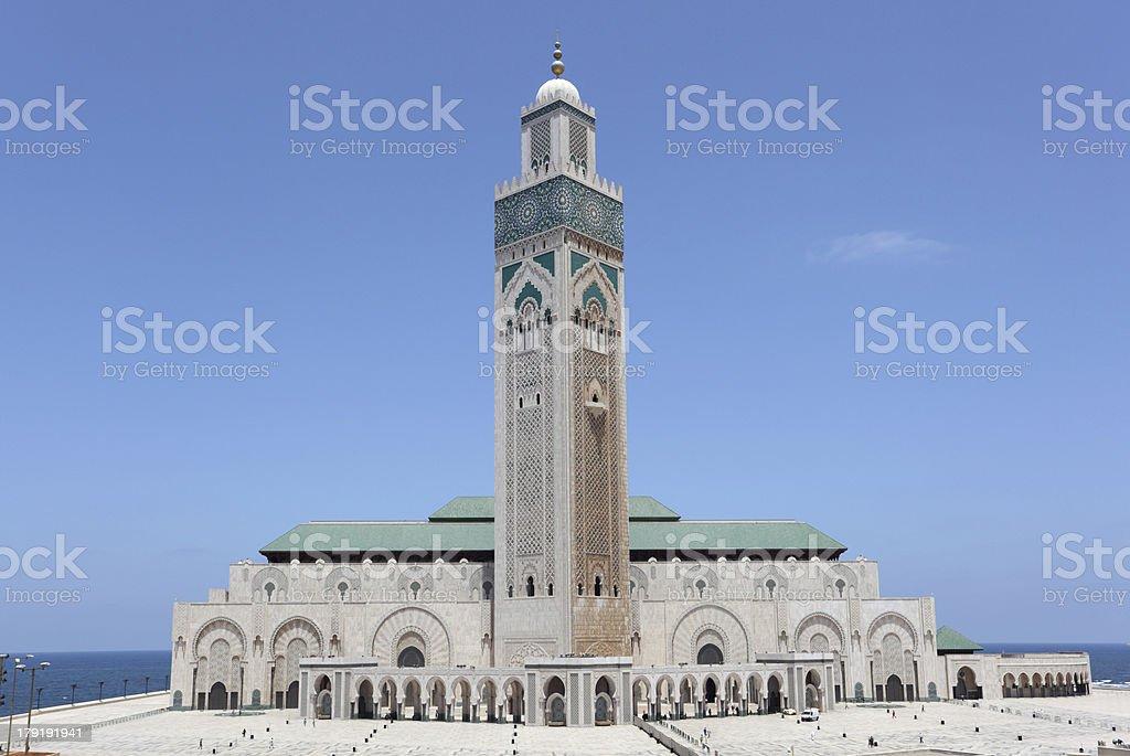 Mosque Hassan II in Casablanca, Morocco stock photo