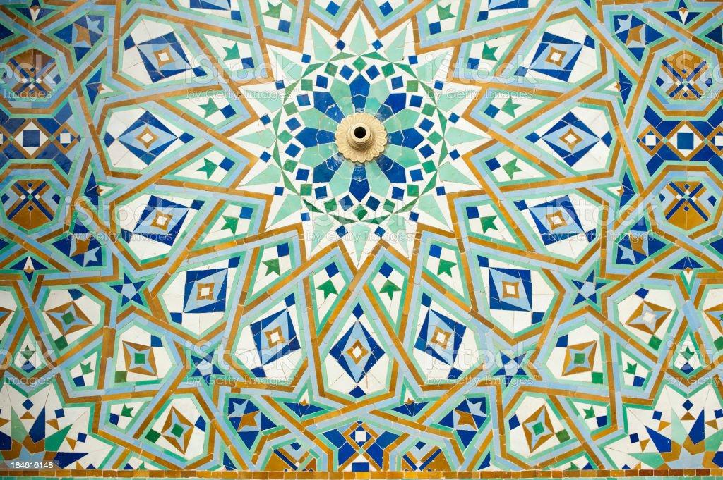 Mosquée Hassan II royalty-free stock photo