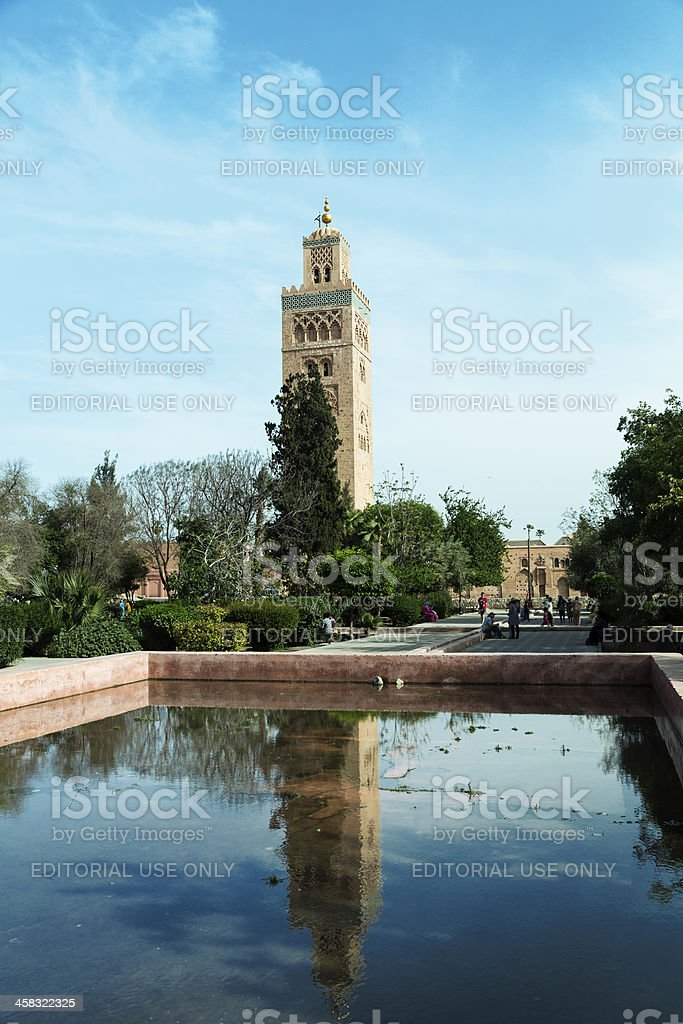 Mosque Hassan II royalty-free stock photo