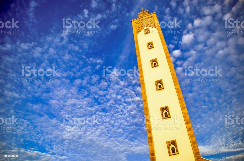 A mosque in Agadir stock photo