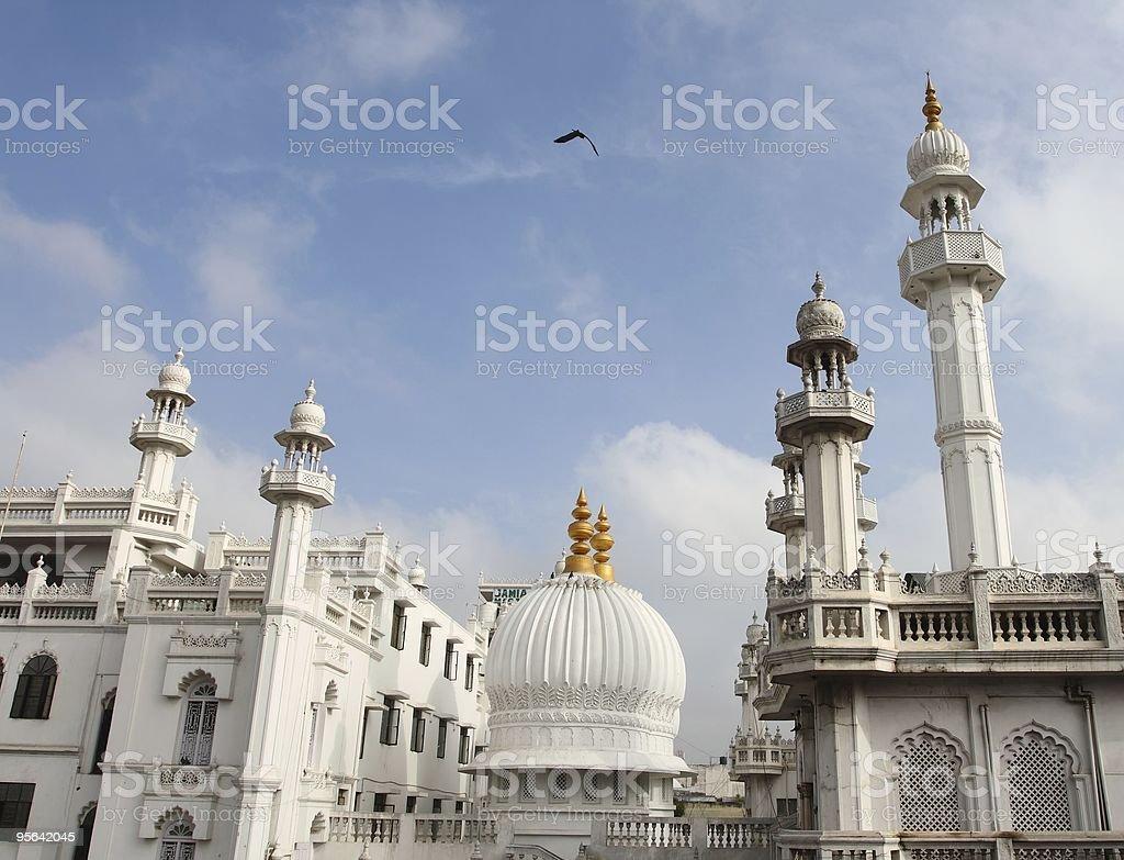 Mosque in Bangalore, India stock photo