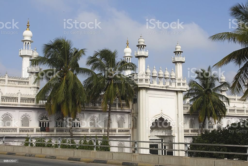Mosque in Bangalore, India royalty-free stock photo