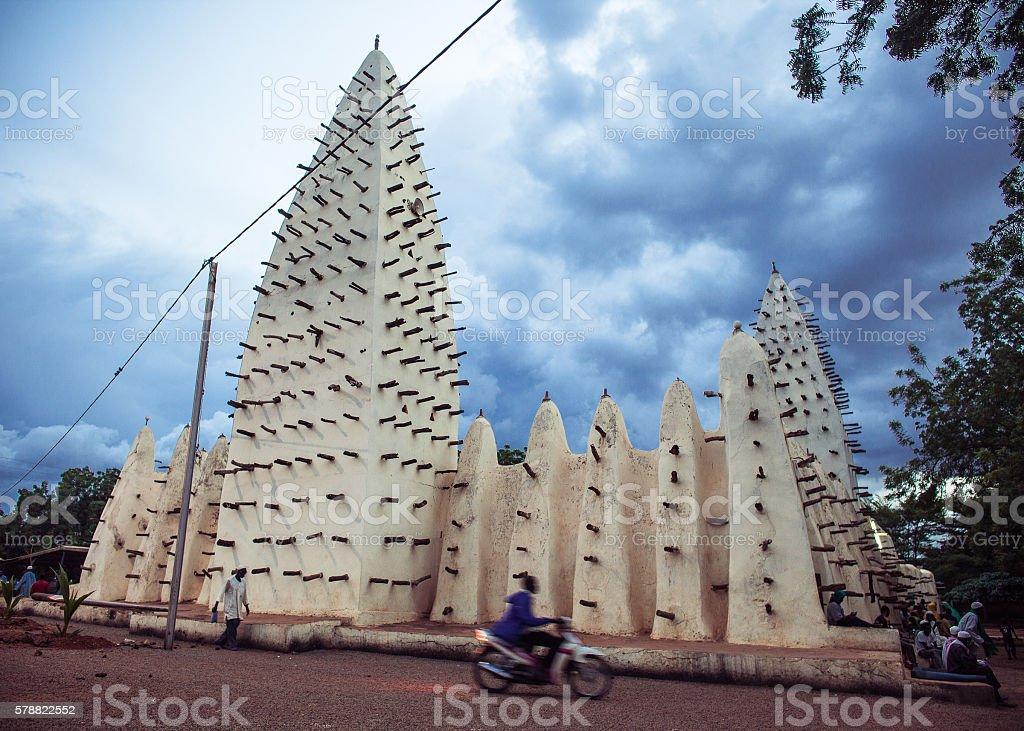 Mosque in Burkina Fasso stock photo
