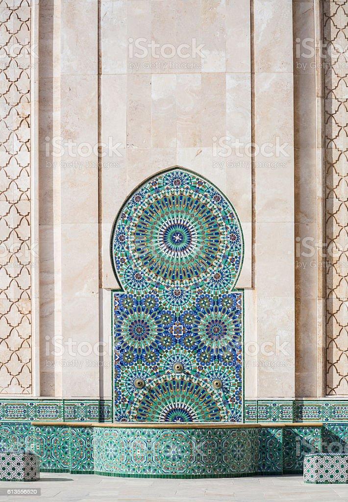 Mosque in Casablanca stock photo