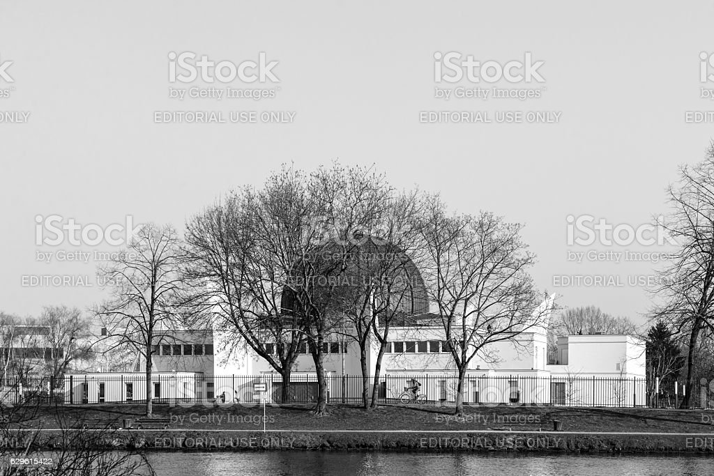 Mosque in France stock photo