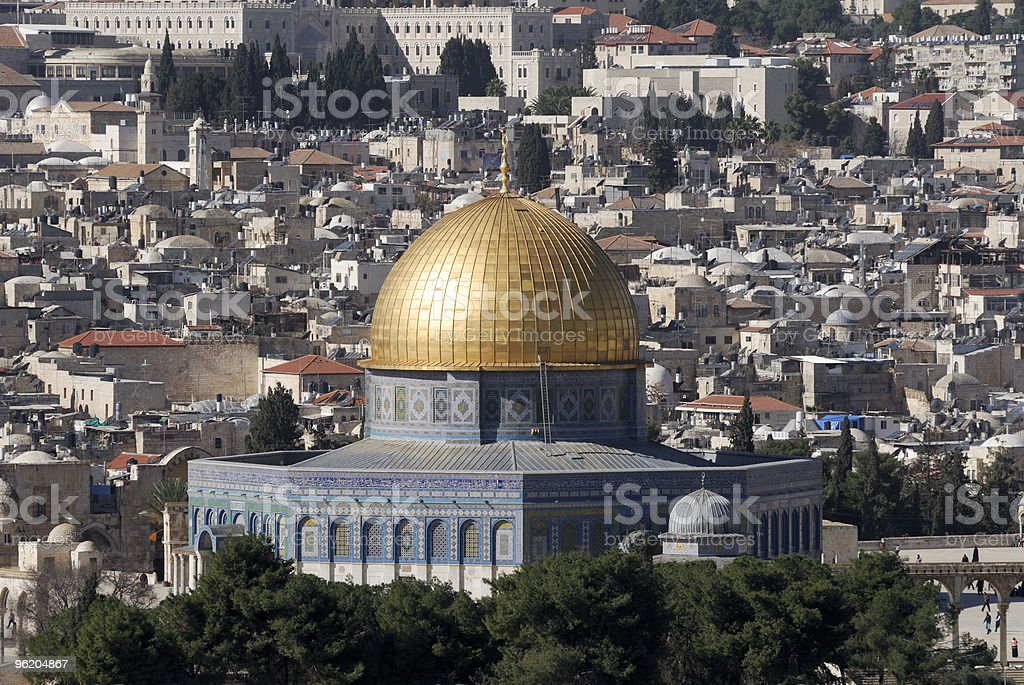 Mosque in Israel royalty-free stock photo