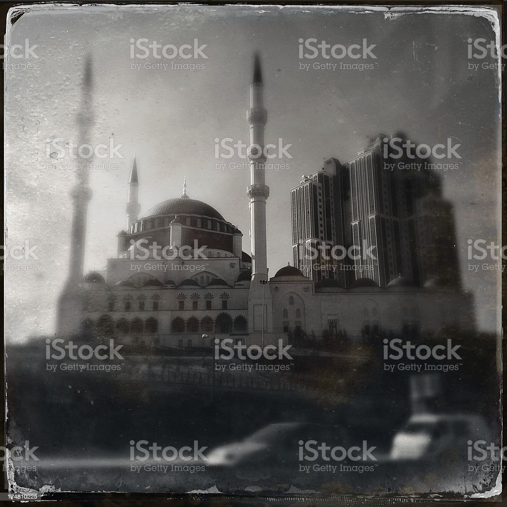 mosque in istanbul royalty-free stock photo