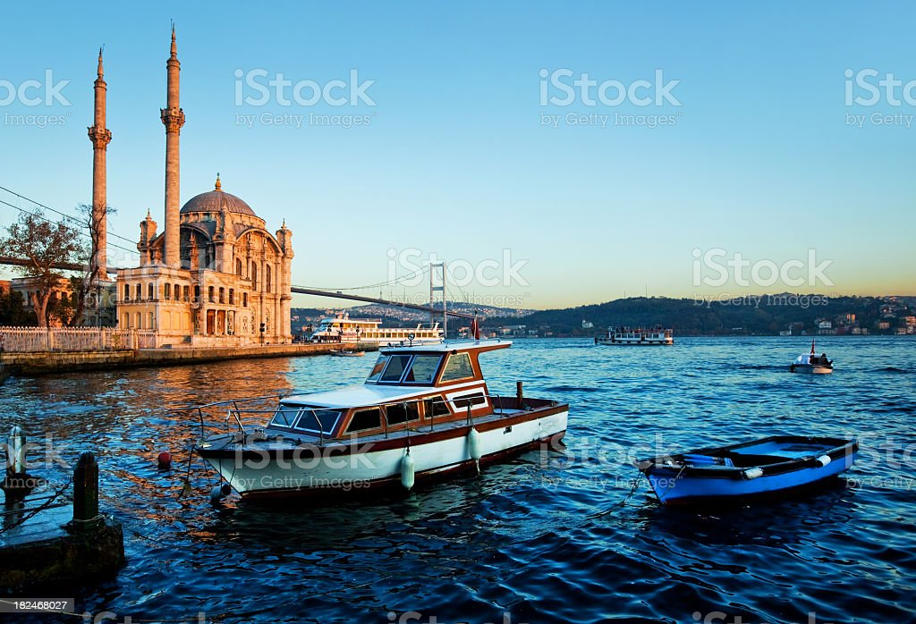 Mosque  in Istanbul, Turkey stock photo