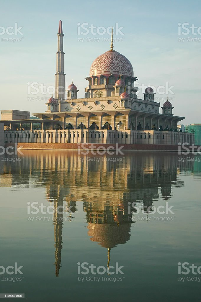 Mosque in Malaysia royalty-free stock photo