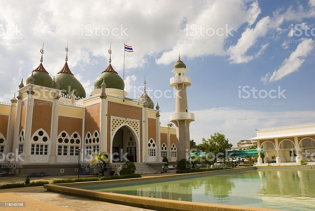 Mosque in Pattani, Thailand royalty-free stock photo