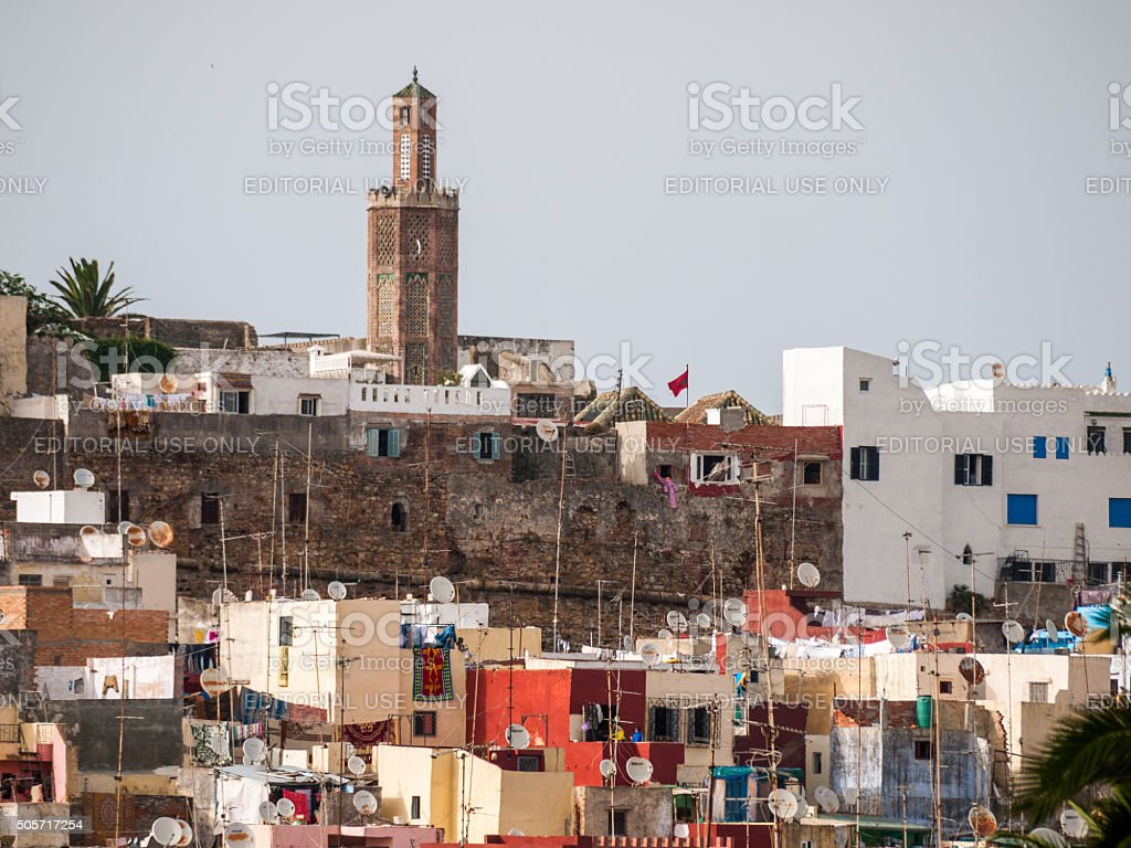 Mosque in Tangiers, Morocco stock photo