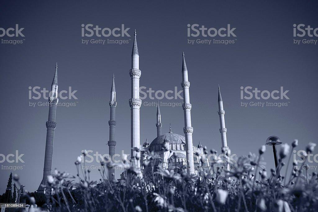 mosque in Turkey stock photo