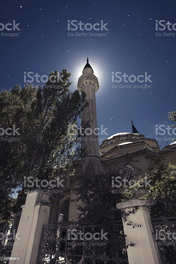 Mosque in Yevpatoriya. Crimea. Ukraine. stock photo