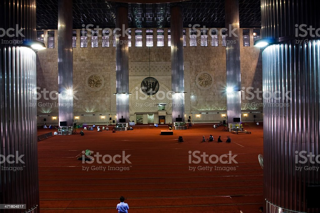 Mesjid Istiqlal Mosque. royalty-free stock photo