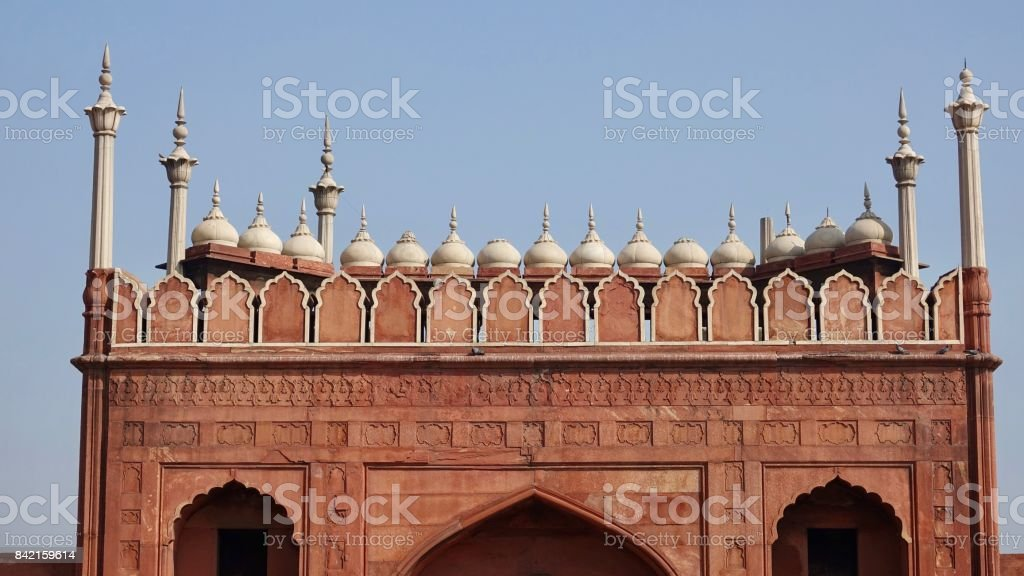 Mosque Jama Masjid stock photo