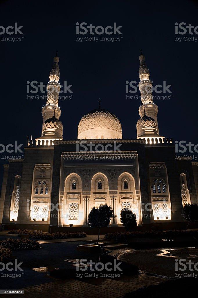 Mosque Jumeirah Dubai stock photo