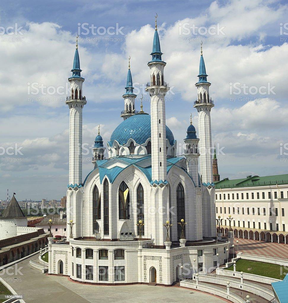 Mosque Koul-Sharif royalty-free stock photo