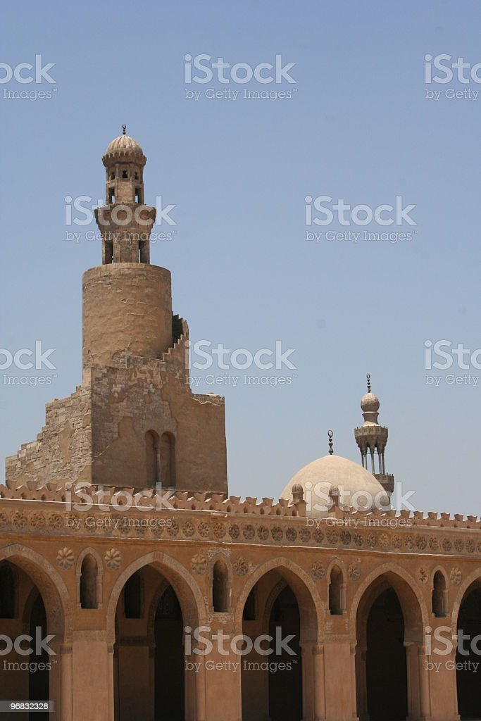 Mosque Minaret royalty-free stock photo