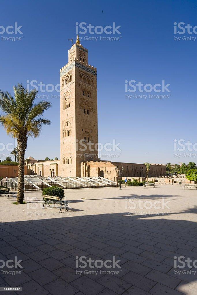 Mosque Morocco stock photo