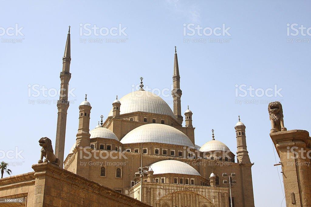 Mosque of Cairo stock photo