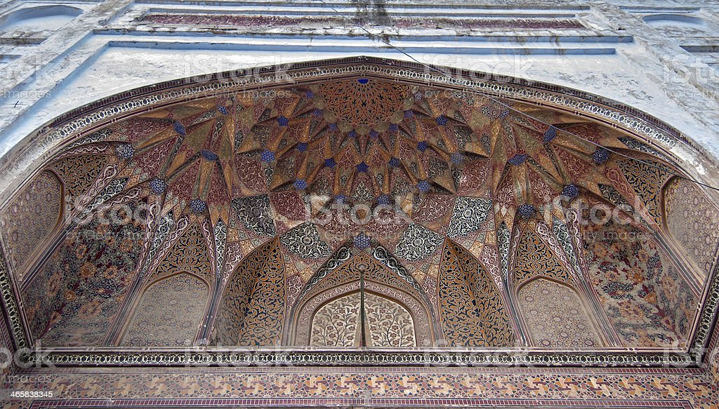 Mosque of Mariyam Zamani Begum stock photo