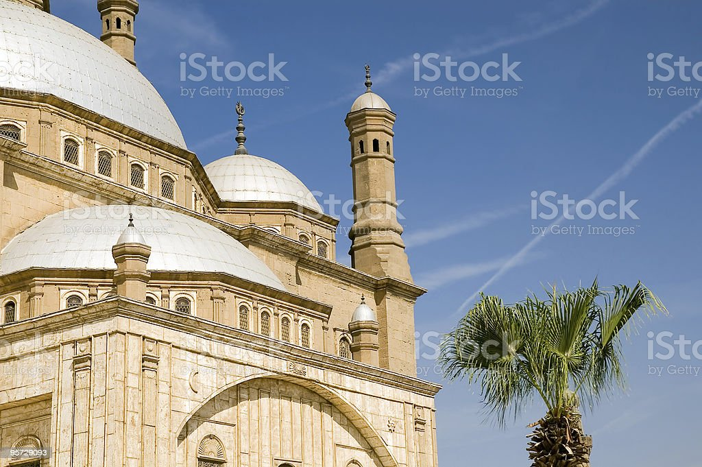 Mosque of Mohamed Ali royalty-free stock photo