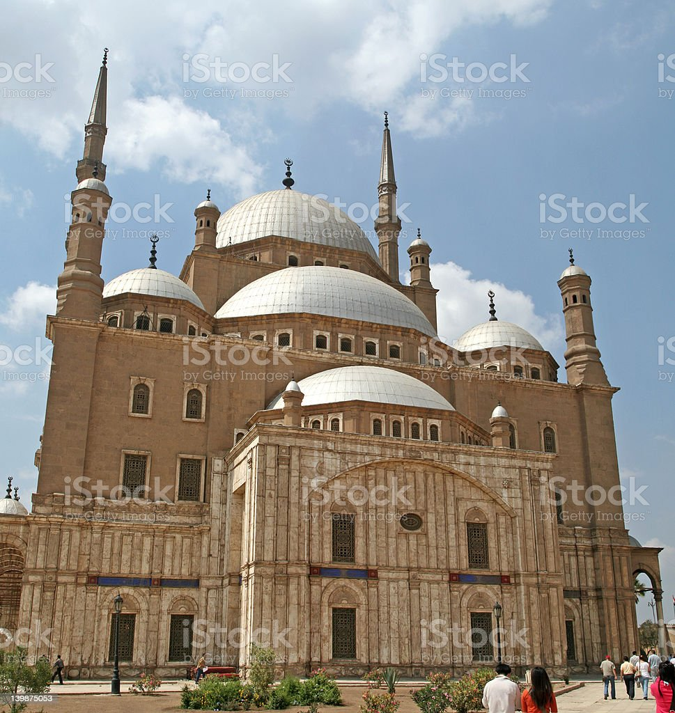 Mosque of Mohammed Ali stock photo