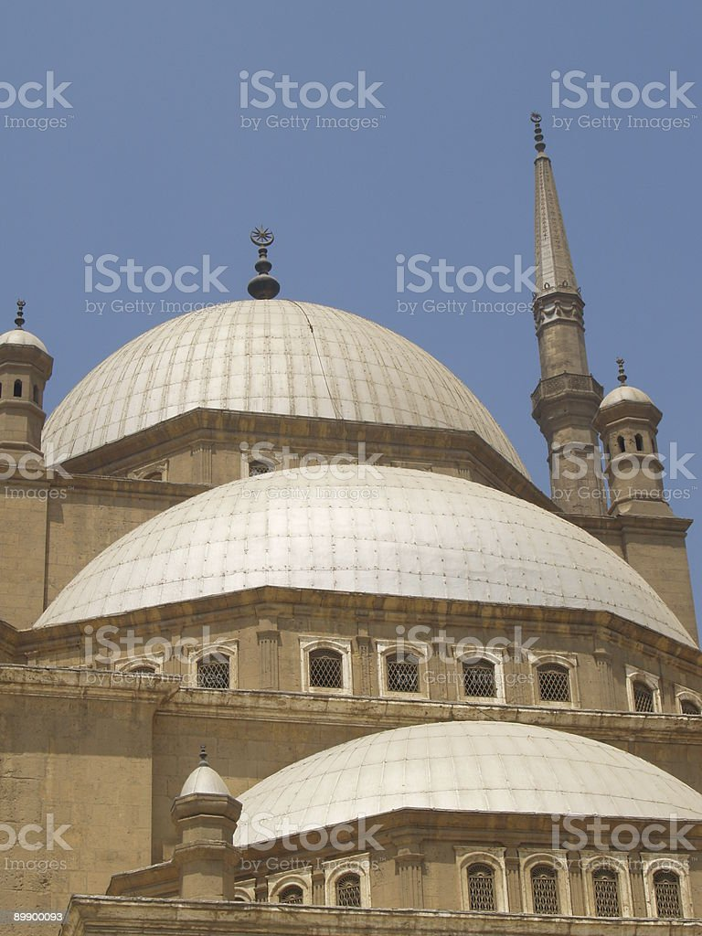 Mosque of Muhammad Ali stock photo