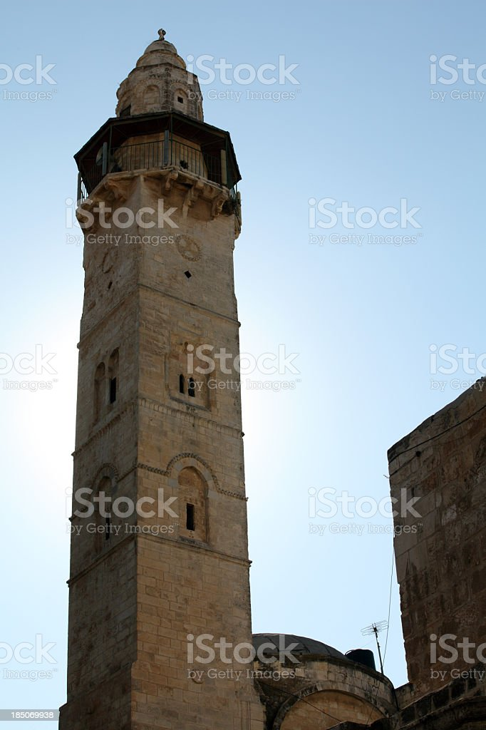 Mosque of Omar royalty-free stock photo