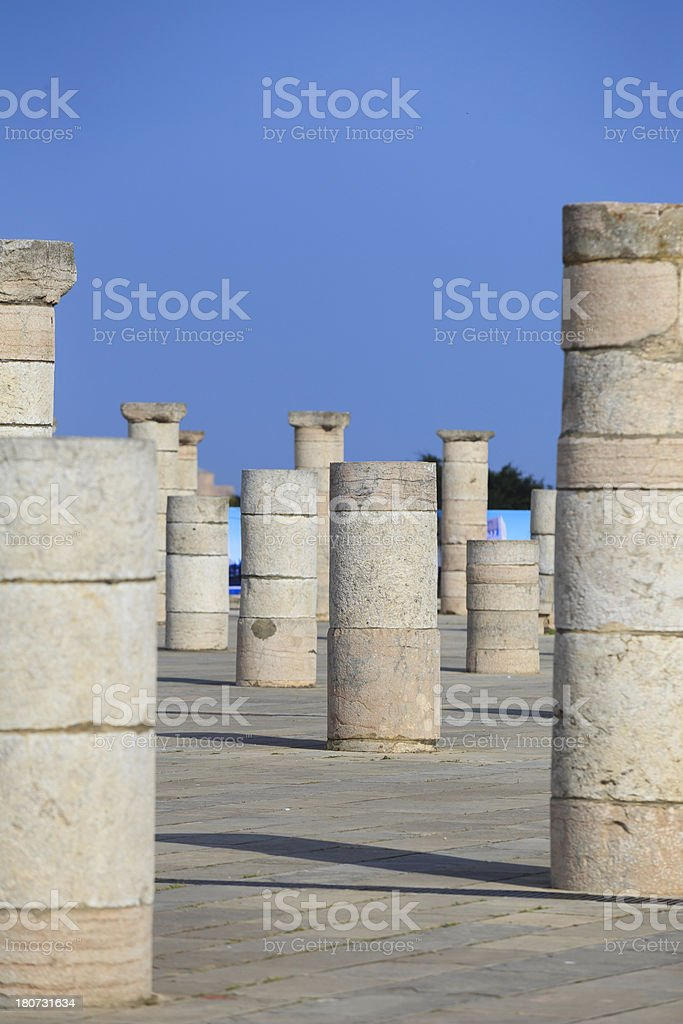 Mosque of Rabat royalty-free stock photo