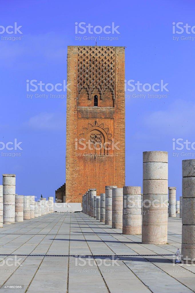Mosque of Rabat royalty-free stock photo