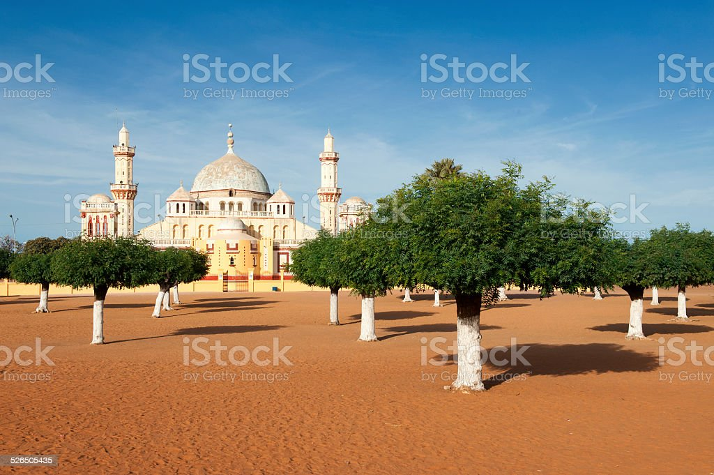 Moschea del Senegal stock photo