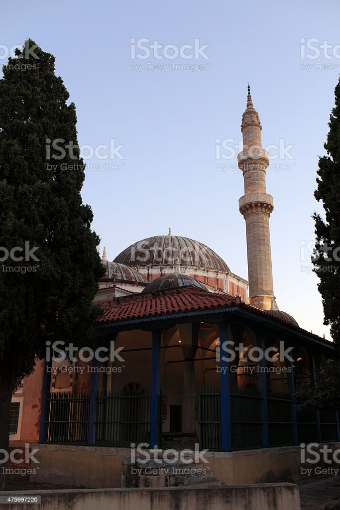Mosque of Soliman stock photo