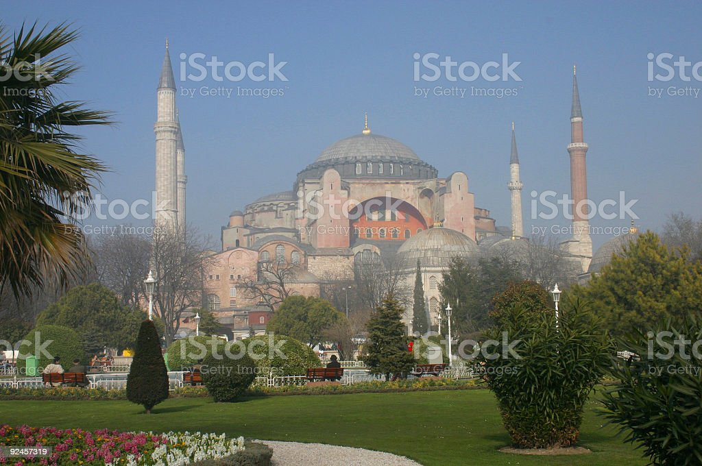 Mosque of Sophia royalty-free stock photo