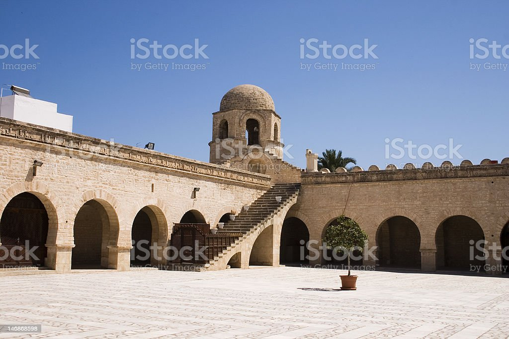 Mosque of Sousse royalty-free stock photo