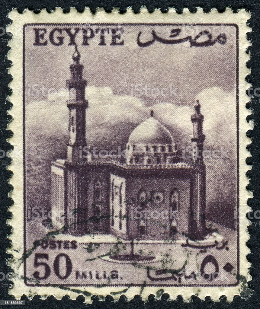 Mosque Of Sultan Hassan In Cairo, Egypt stock photo