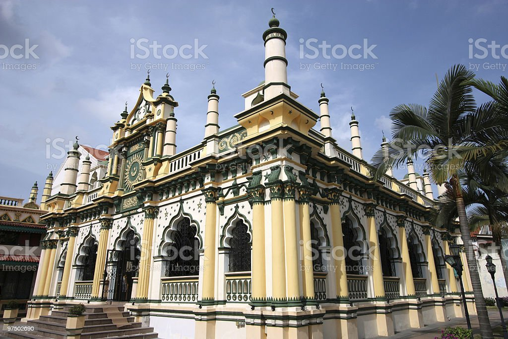 Mosque stock photo