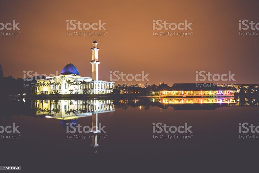 UNITEN Mosque, Putrajaya Malaysia stock photo