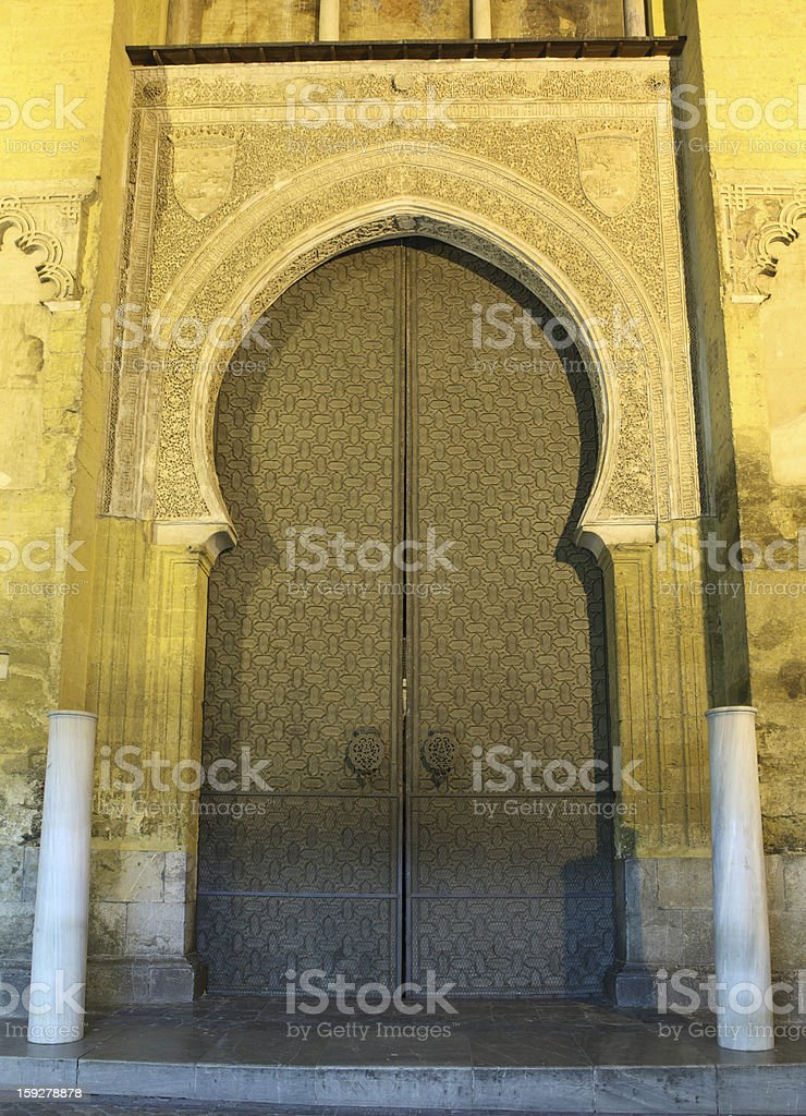 Mosque-Cathedral in Cordoba, Spain royalty-free stock photo