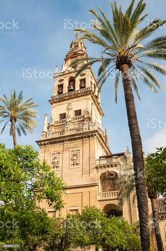 Mosque-Cathedral of Cordoba (Spain) stock photo