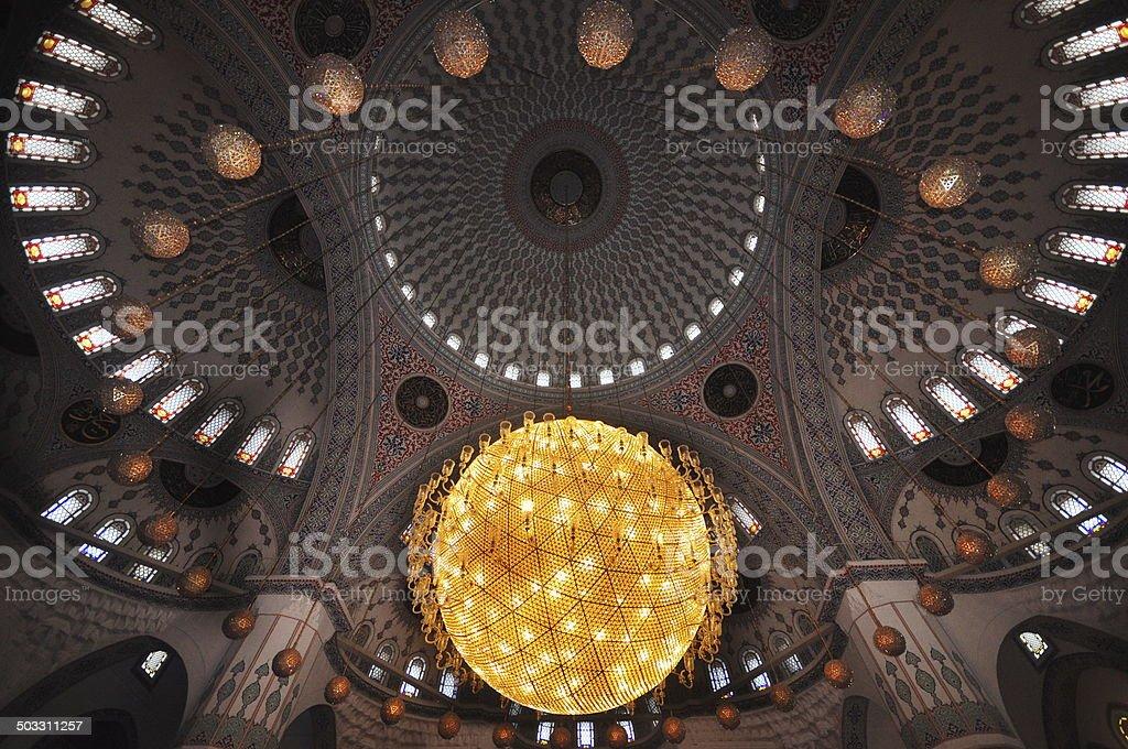 Mosque-Kocatepe camii stock photo