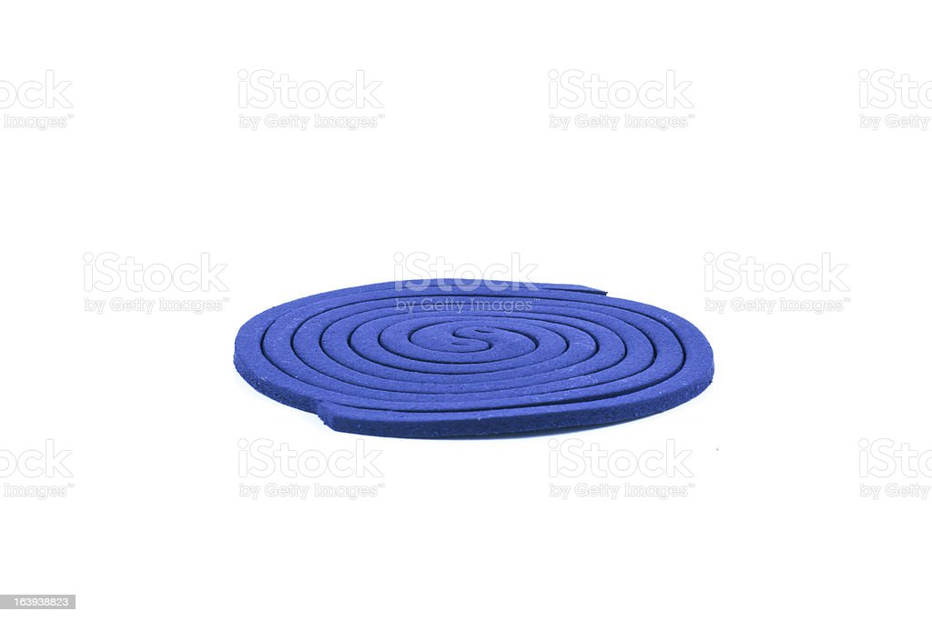 Mosquito coil isolated stock photo