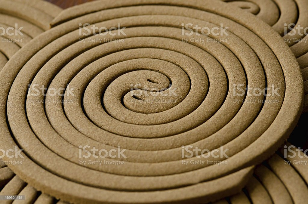Mosquito repellent coils royalty-free stock photo