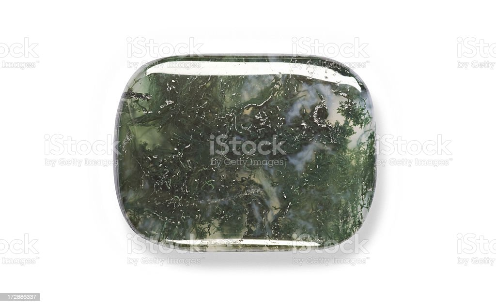Moss Agate royalty-free stock photo