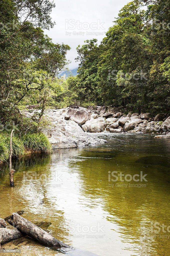 Mossman Gorge stock photo