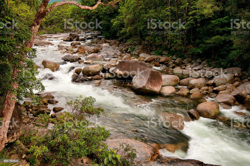 Mossman River stock photo
