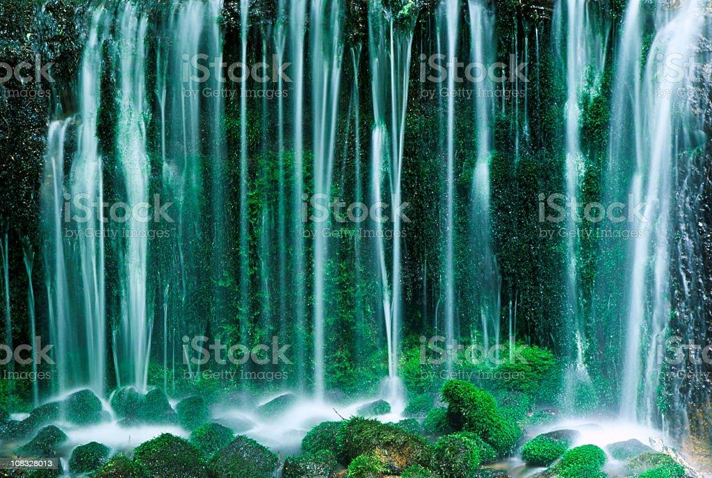 Mossy Cascade stock photo