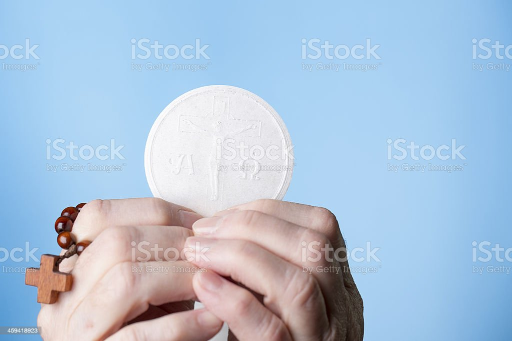 Most Holy Eucharist royalty-free stock photo