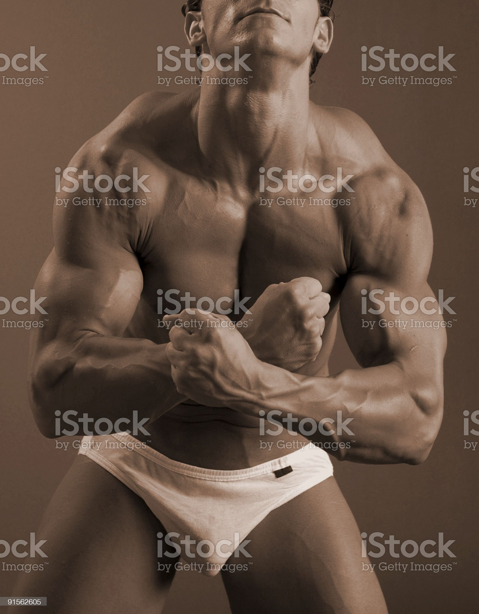most muscular royalty-free stock photo